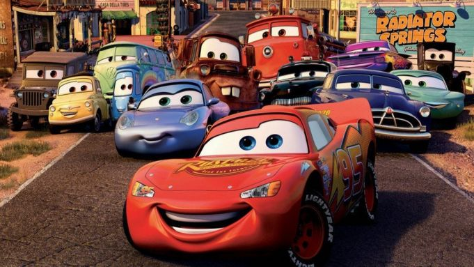 Cars 3 showing in Rome cinemas