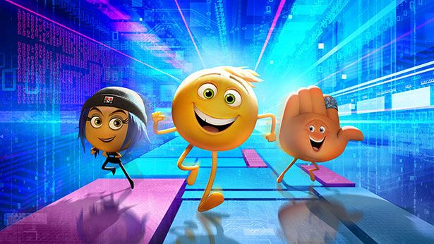 The Emoji Movie showing in Rome cinemas