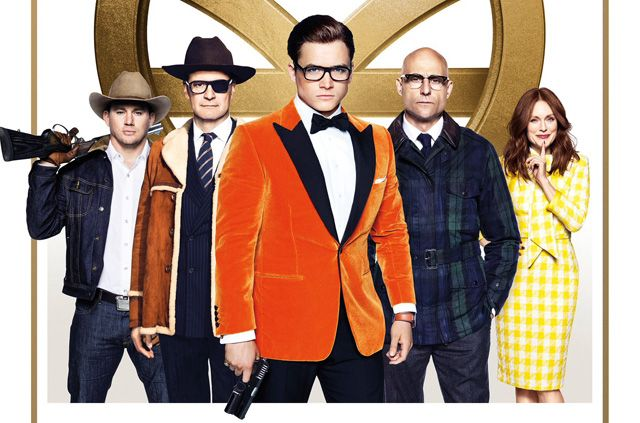 Kingsman: The Golden Circle in Rome cinemas