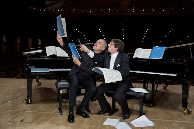 Bahrami and Rea with Bach is in the air