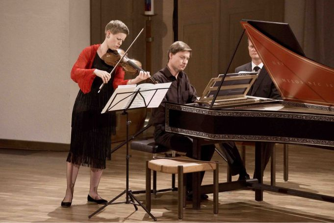Isabelle Faust and Kristian Bezuidenhout