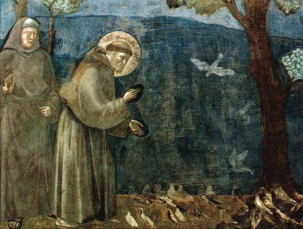 Saint Francis of Assisi, Patron saint of Italy.