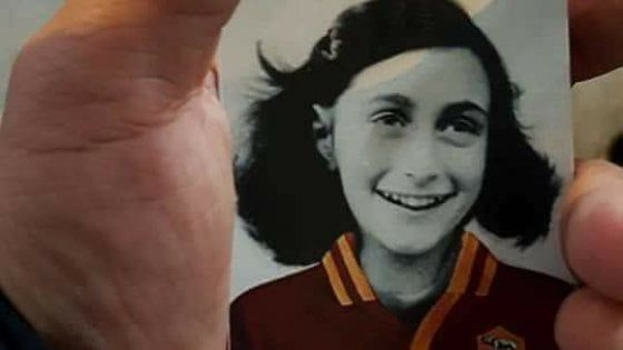 Lazio fans condemned for Anne Frank stickers
