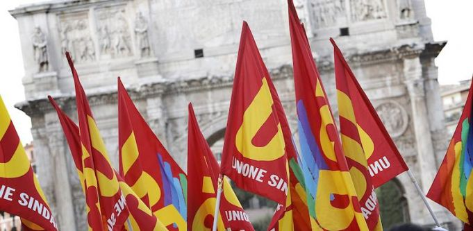 General strike in Rome on 27 October