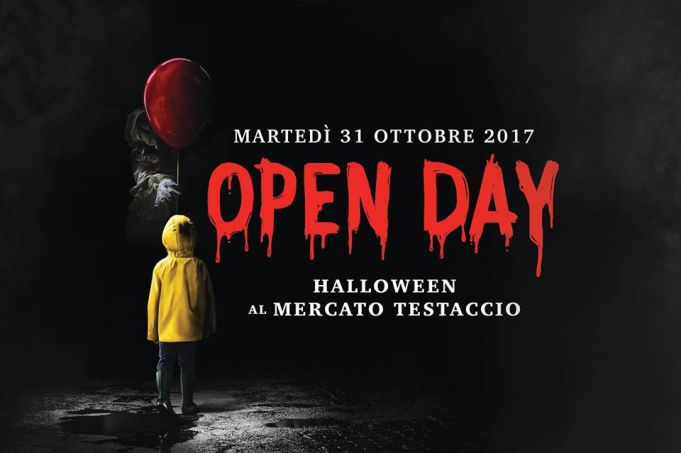 Halloween Open Day at Mercato di Testaccio