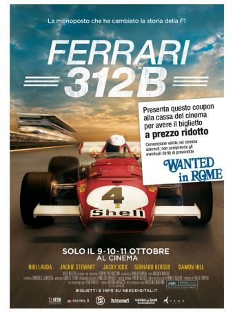 Ferrari 312B movie on the 9/10/11 October 2017