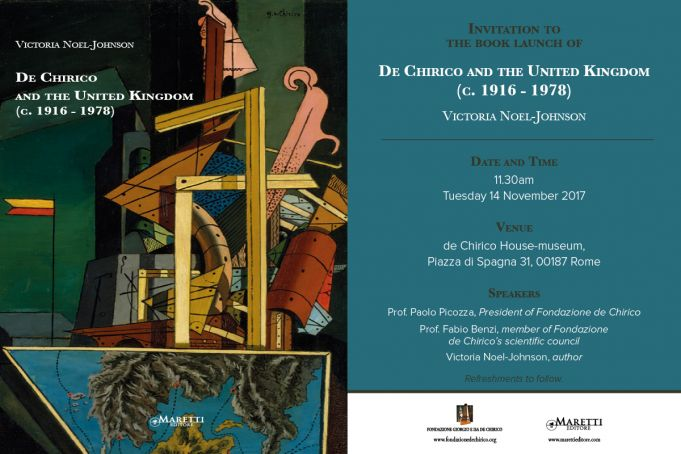De Chirico book launch in Rome