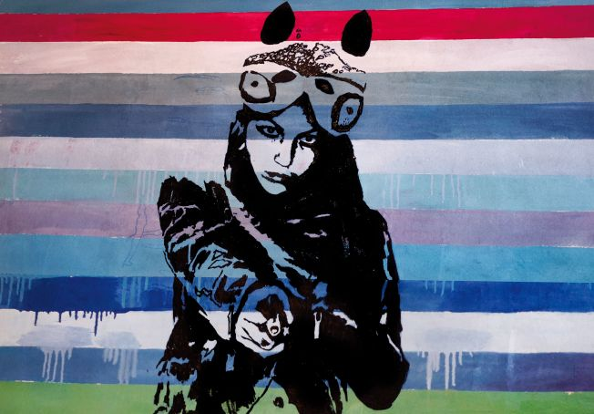 Pax Paloscia: Alice. Down to the rabbit hole