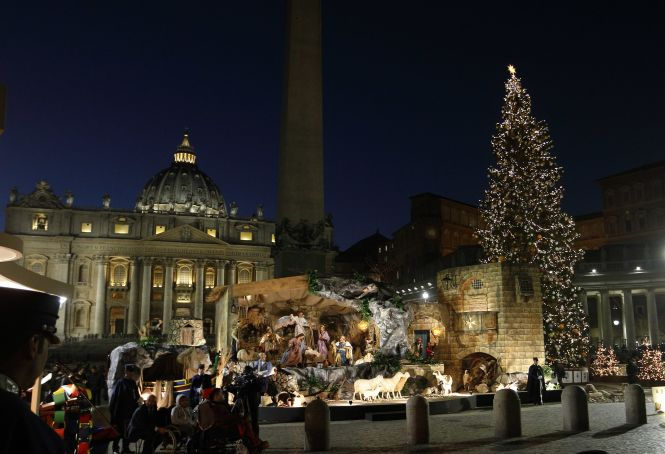 Vatican Christmas tree to be lit on 7 December