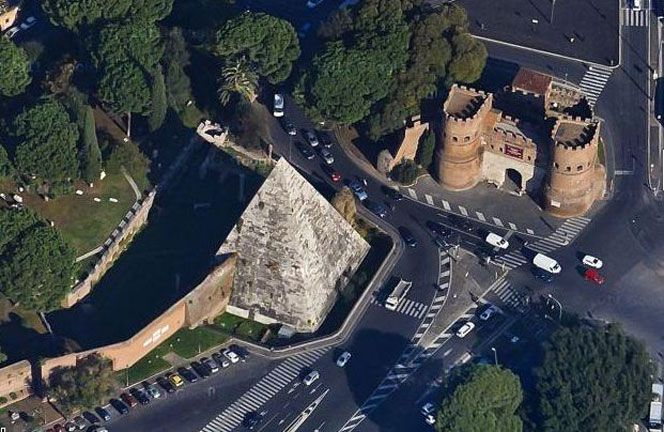 Visit the Piramide Cestia with Wanted in Rome tours
