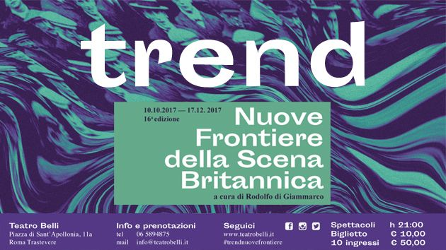 Trend: Festival of British Theatre in Rome