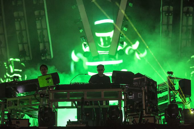 Chemical Brothers at Rock in Roma