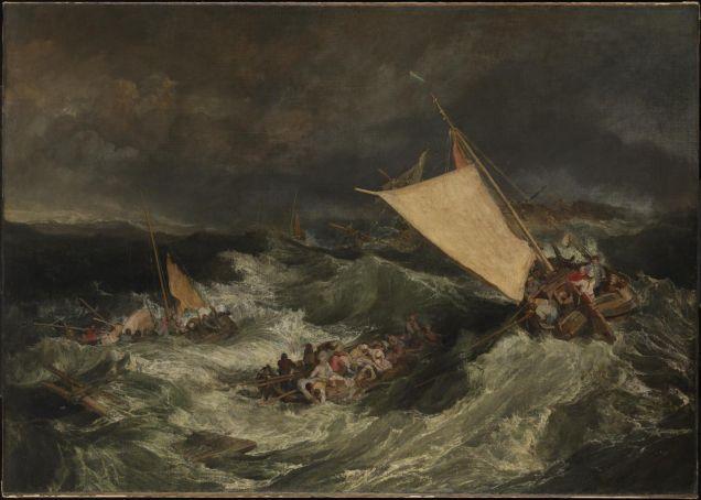 William Turner exhibition in Rome