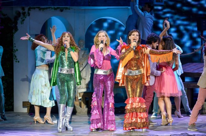 Mamma Mia! at Rome's Teatro Sistina