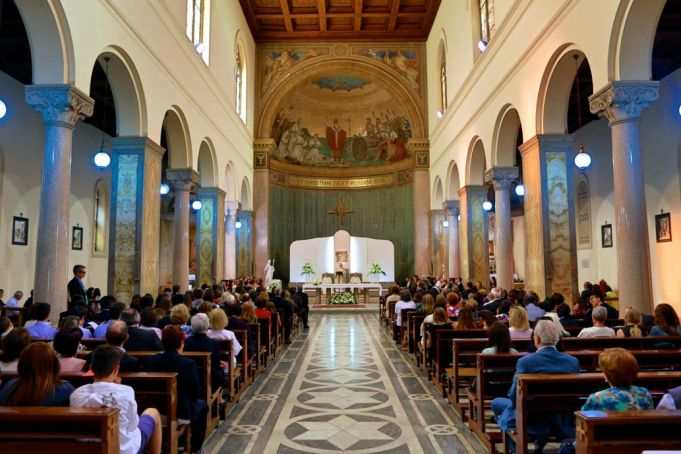 Rome's S. Susanna becomes St Patrick's