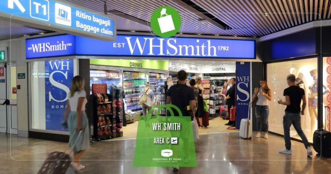 WHSmith opens a store at Fiumicino