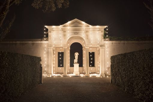 Festival of light at Rome's French Academy