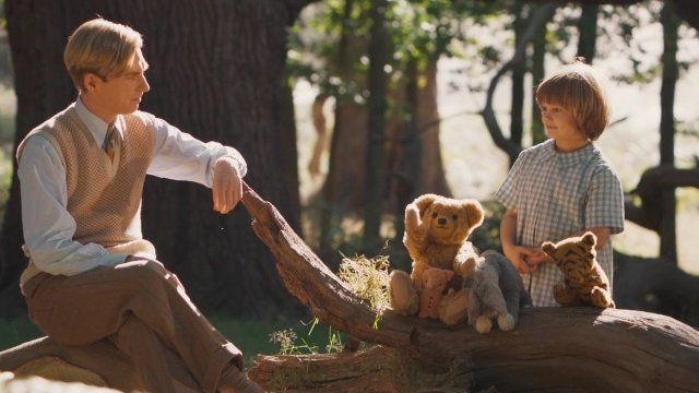 Goodbye Christopher Robin showing in Rome cinemas