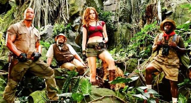 Jumanji: Welcome to the Jungle showing in Rome cinemas