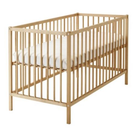 BABY CRIB IKEA Never used HALF PRICE