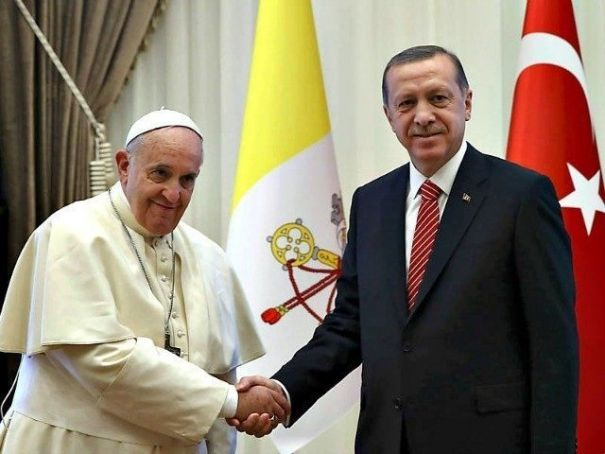 Erdogan to visit Rome and Vatican