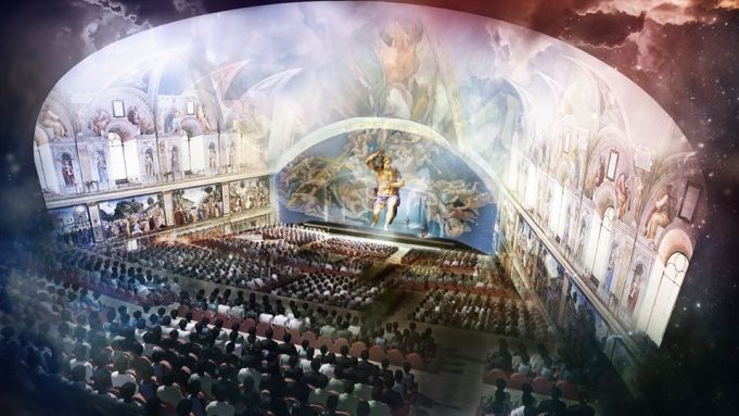 Giudizio universale michelangelo and the secrets of the for Decorazione quattrocentesca della cappella sistina