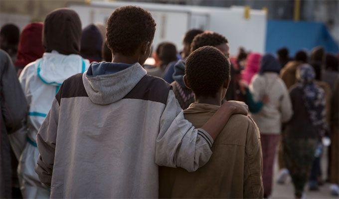 Lazio takes unaccompanied minors under its wing
