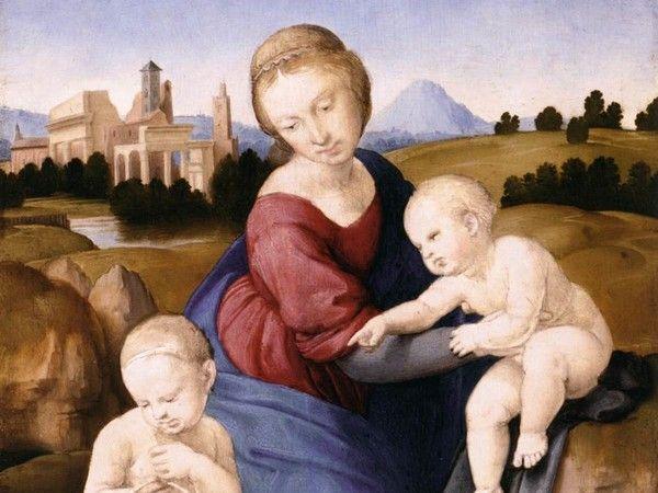 Raphael's Esterházy Madonna at Palazzo Barberini