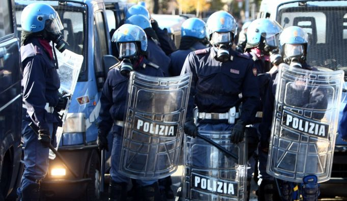 Tight security in Rome for anti-fascist rally on 24 February