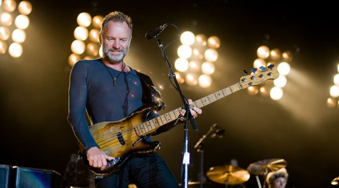 Sting concert in Rome on 28 July