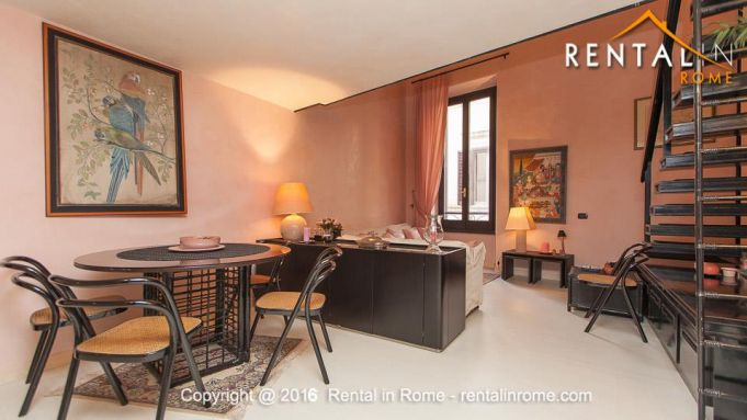 LONG TERM SPECIAL PRICE-FURNISHED LOFT IN NAVONA-ALL INCLUSIVE