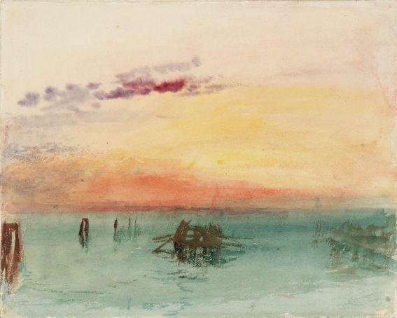 Turner at Rome's Chiostro del Bramante