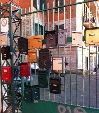 Roman post boxes