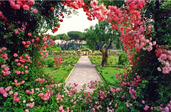 Rome's rose garden 2018