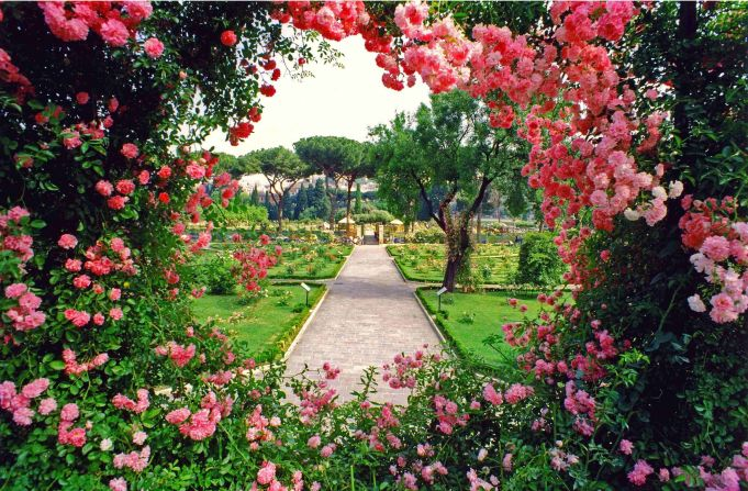 Rome's rose garden: 2019 dates