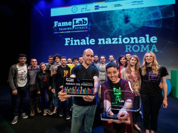Famelab Final in Rome