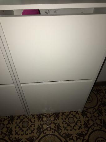 Shoe Rack - Bissa IKEA White