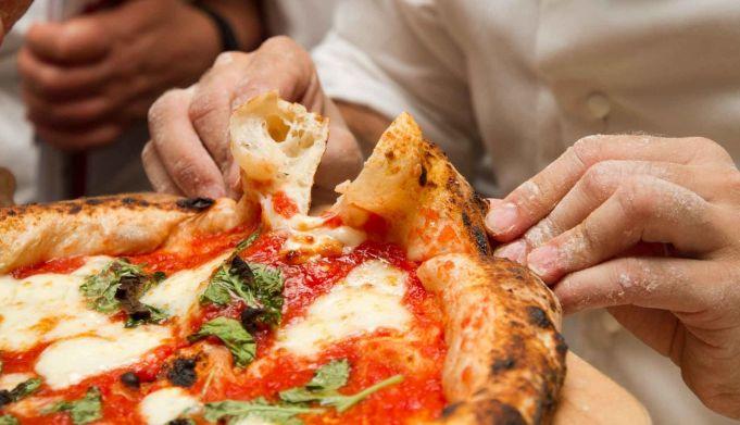 Pizza festival in Rome