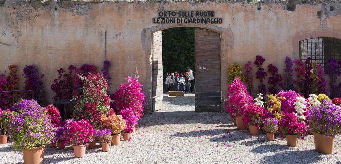 Floracult garden fair in Rome 2019