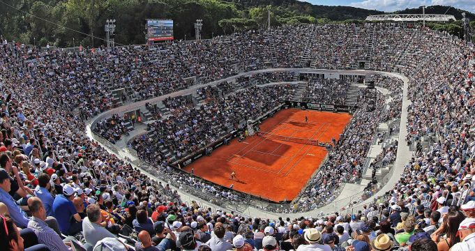 BNL International Tennis Tournament in Rome