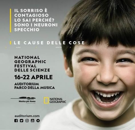 National Geographic science festival in Rome
