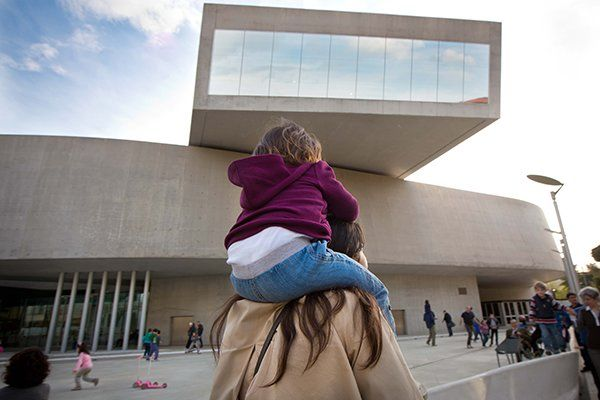 Free entry for mothers at MAXXI for Festa della Mamma
