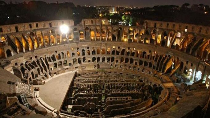 Night tours of the Colosseum