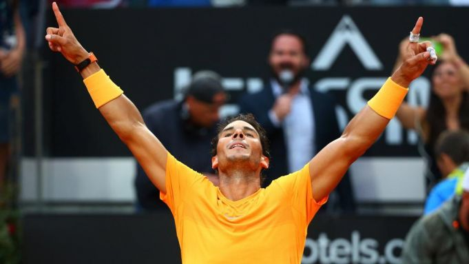 Nadal claims eighth title at Tennis Masters in Rome