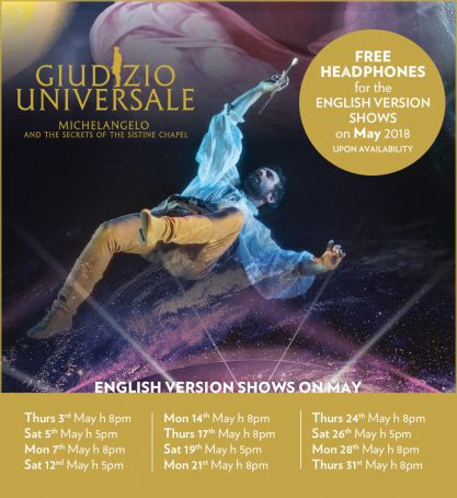 GIUDIZIO UNIVERSALE | 20% off with the WIR Card