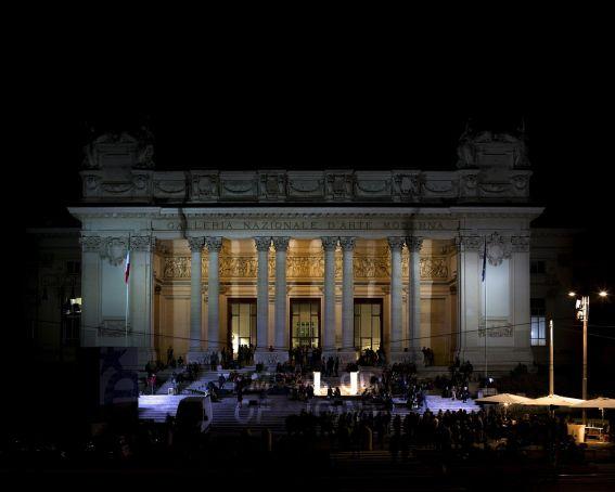Galleria Nazionale d'Arte Moderna opens late for €1