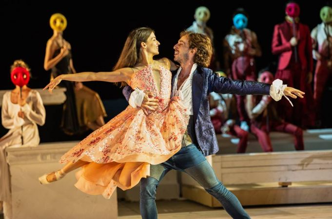 Ballet at Baths of Caracalla: Romeo and Juliet