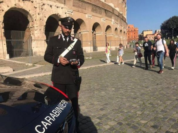 Another tourist caught vandalising Colosseum