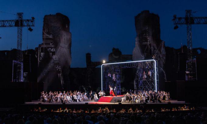 La Traviata under the stars at the Baths of Caracalla