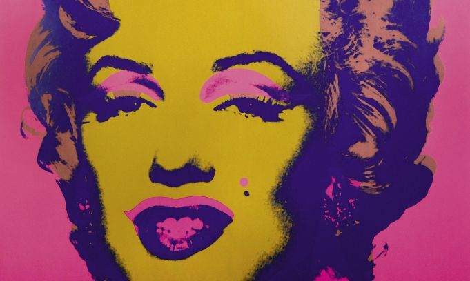 Andy Warhol exhibition in Rome
